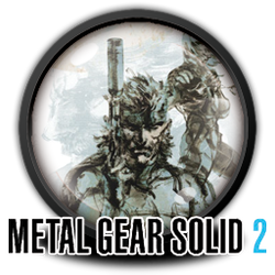 Metal Gear Solid 2 Icon by FallenShard