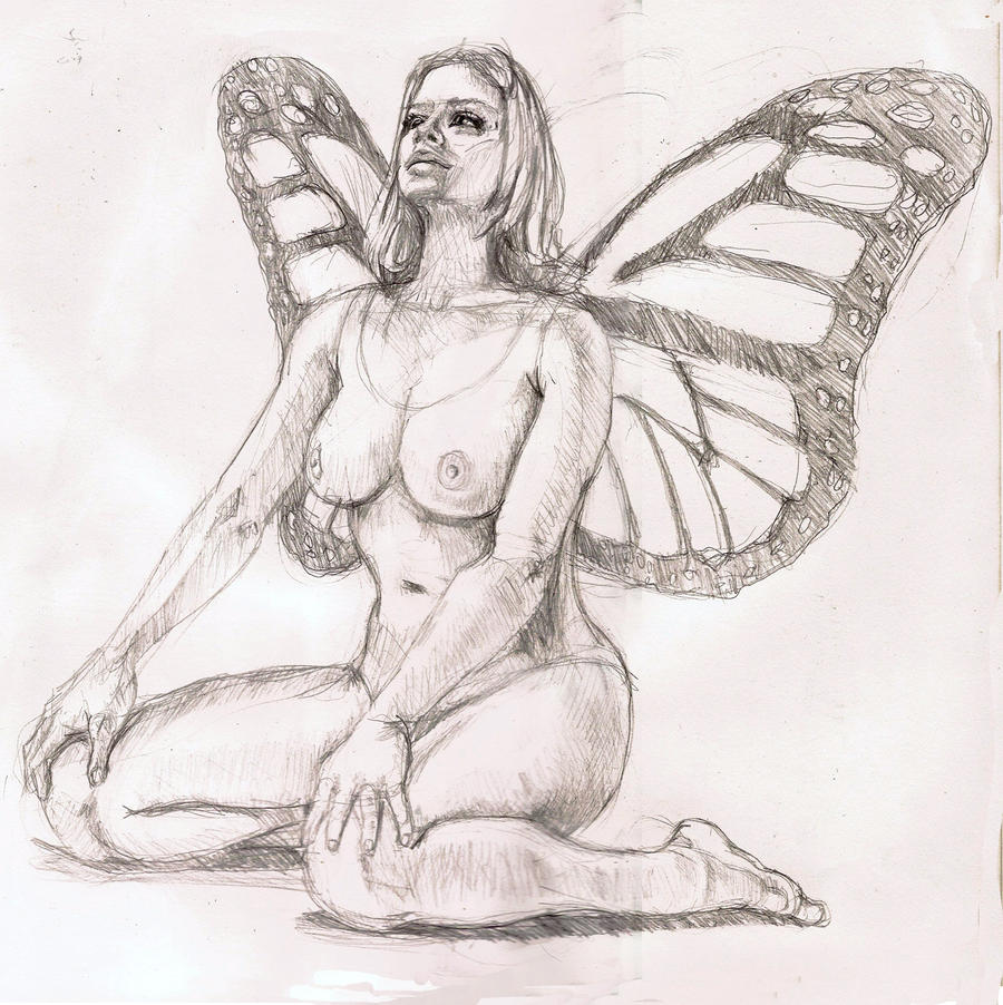Nude Fairy by ~Kjstephens on deviantART