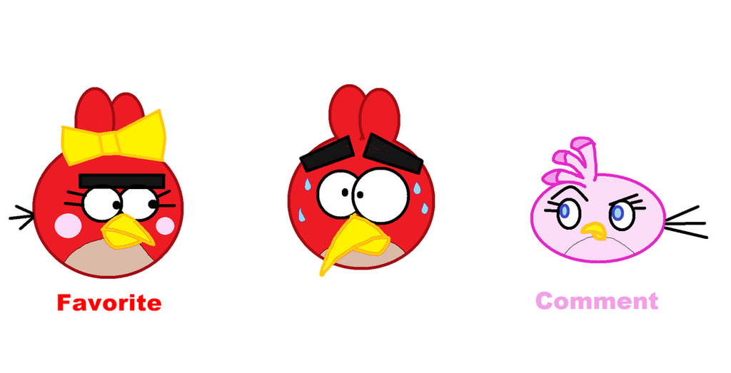 angry birds red female - photo #23