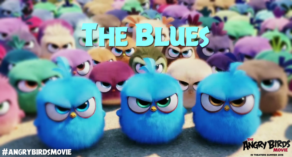 The Angry Birds Movie The Blues Wallpaper By Jeremiekent13 On Deviantart