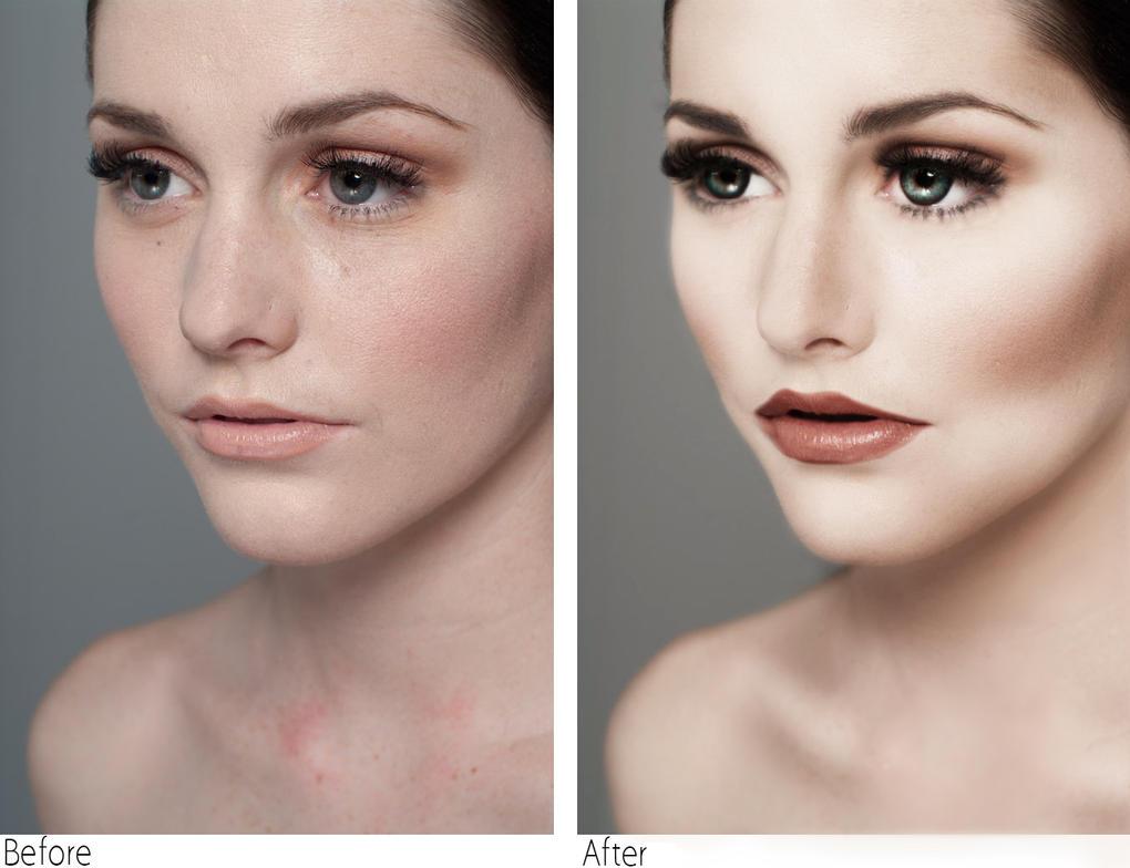 Обработка фото как у моделей