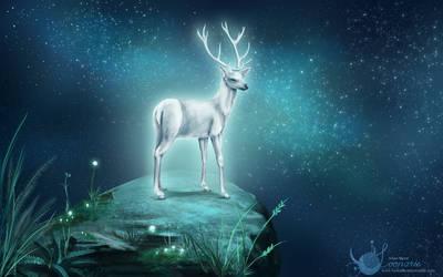 Shiny Deer