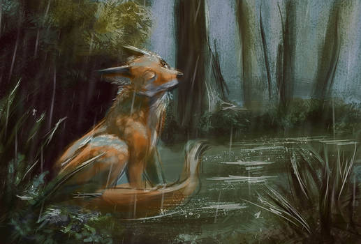 One hour: Fox Sketch