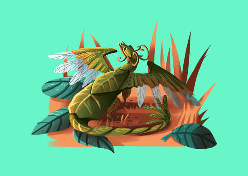 Tiny Insect Dragon (25/31) - Leaf insect
