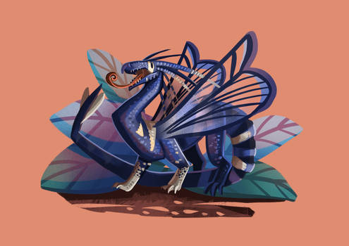 Tiny Insect Dragon (29/31) - Lesser Peachtree Bore