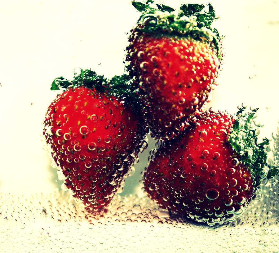 Strawberry Explosion by NatalieRoseNinja
