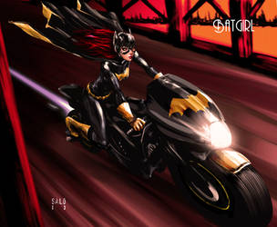 Batgirl by sal0