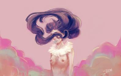 Hair by baeduxai