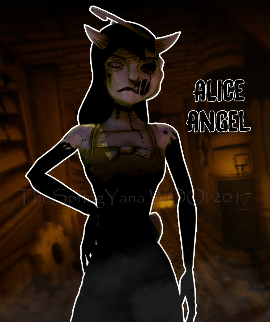 [C4D/BATIM] Alice Angel Poster By TheSpringYanaWOO On