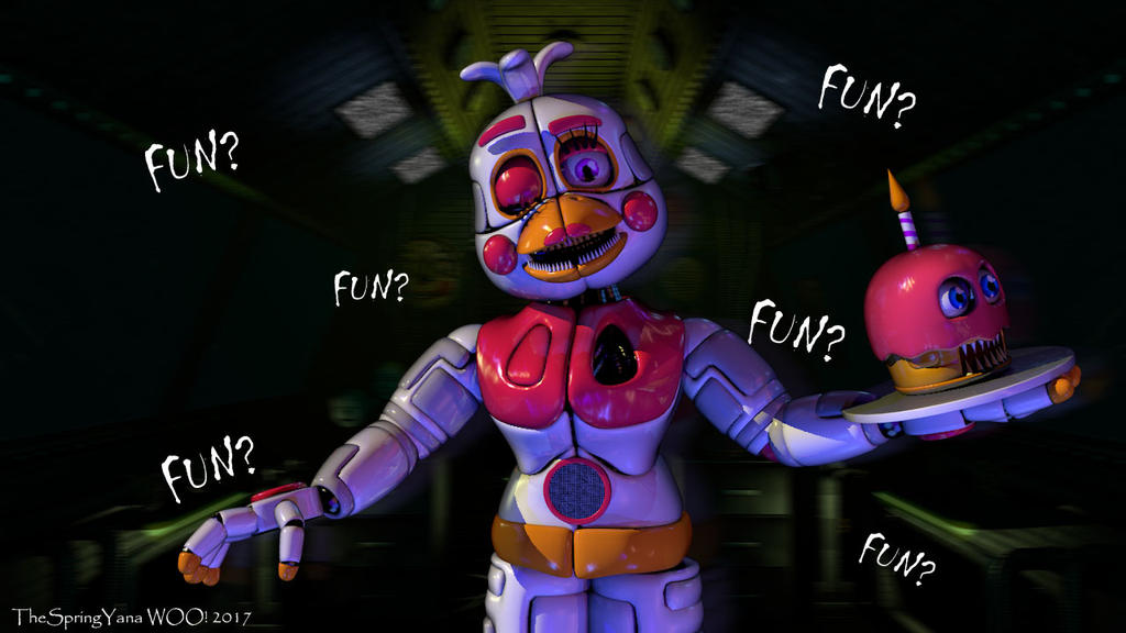 C4d fnaf someone said fun official f chica by for Deviantart vrchat avatars