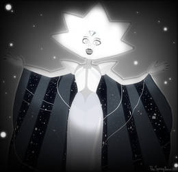 White Diamond [StevenUniverse/Cinema4D] by TheSpringYanaWOO