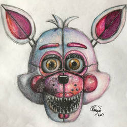 My Funtime Foxy Drawing