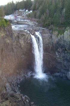 Snoqualmie Falls, Winter