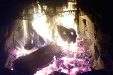 Burning Car 001
