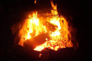Burning Car 002