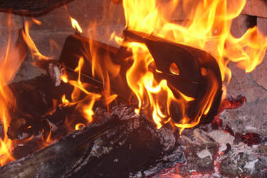 Burning Car 003