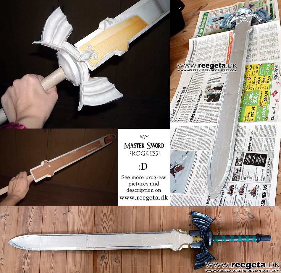 how to make a prop sword