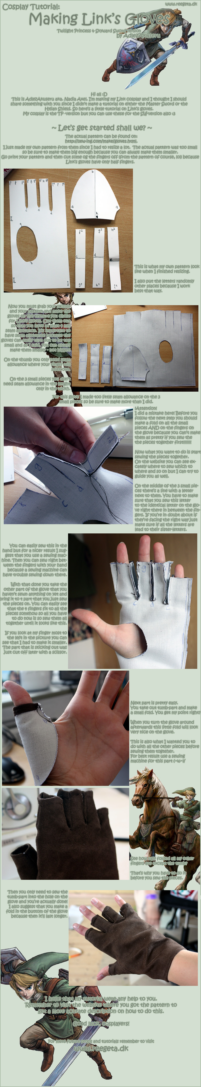 Tutorial: Link's Gloves by AdlezAxel