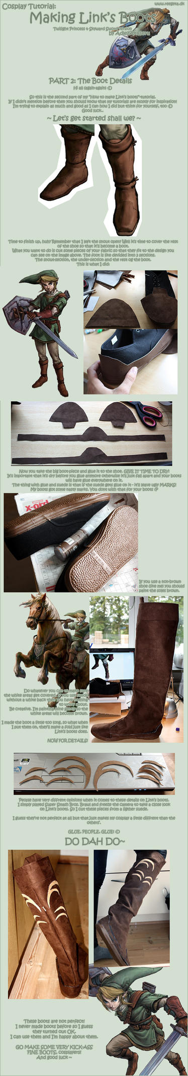 Tutorial: Link's Boots: Part 2 by AdlezAxel
