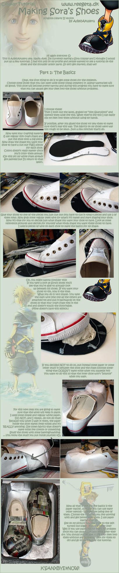 Tutorial: Sora's Shoes: Part 1 by AdlezAxel