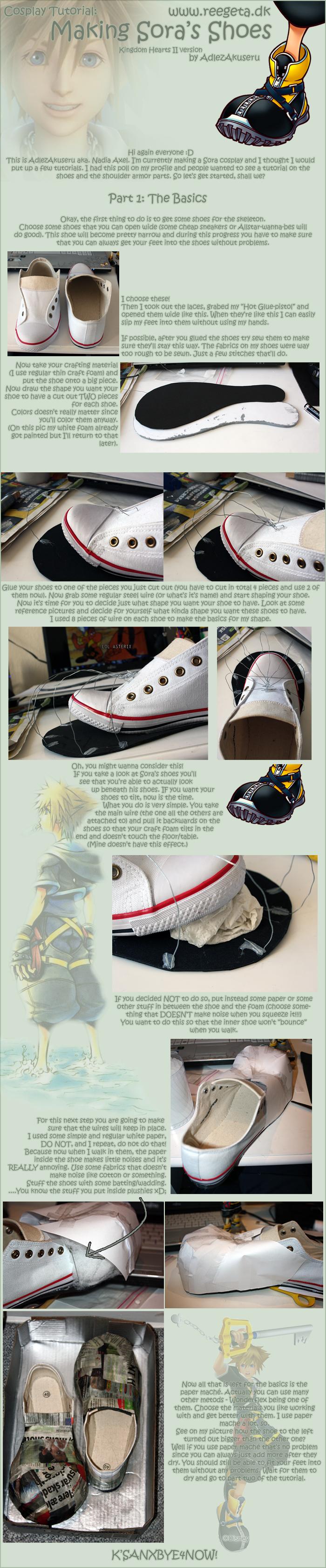 Tutorial: Sora's Shoes: Part 1 by AdlezAxel