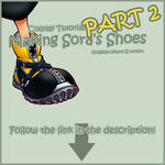 Tutorial: Sora's Shoes: Part 2