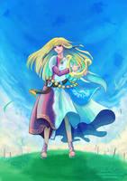 Ballad of the Goddess [ Speedpaint ] by Nadiaxel