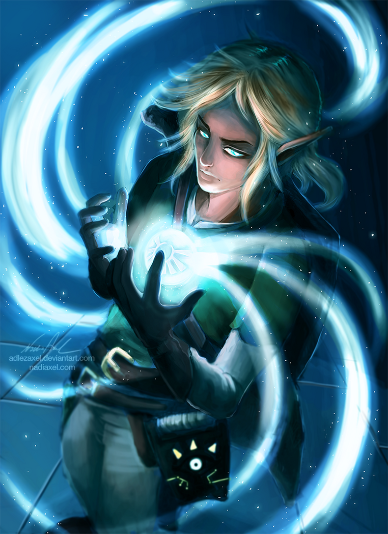Breath of the Wild: Spirit Orb by AdlezAxel
