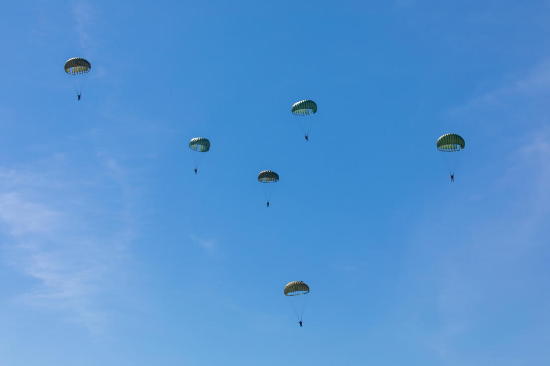 Parachute Demonstration by IntermissionNexus