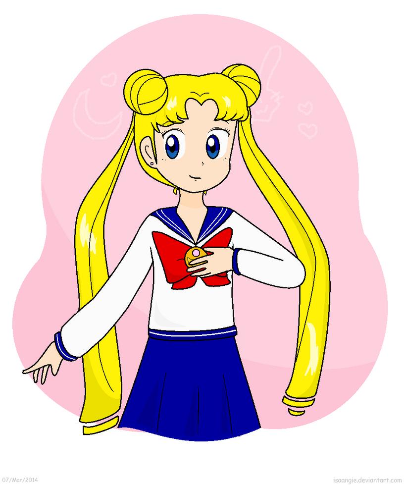usagi tsukino how to draw