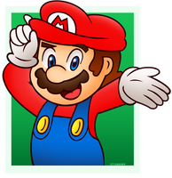 It's Mario time! by Isaangie