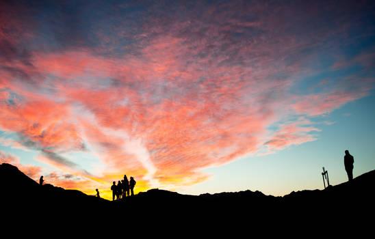 Sunset In Egypt by Moggen2