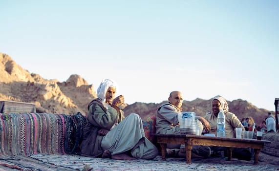 The Bedouin Man by Moggen2