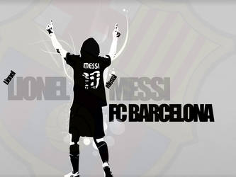 Lionel Messi Vector Wallpaper by rollr