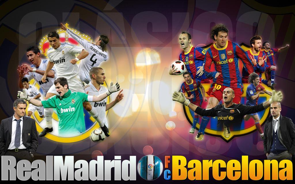 El Clasico   Real Madrid Vs  Fc Barcelona By Rollr
