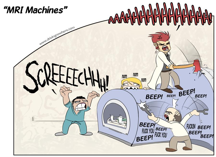 Mri Machines By Kevxr On Deviantart