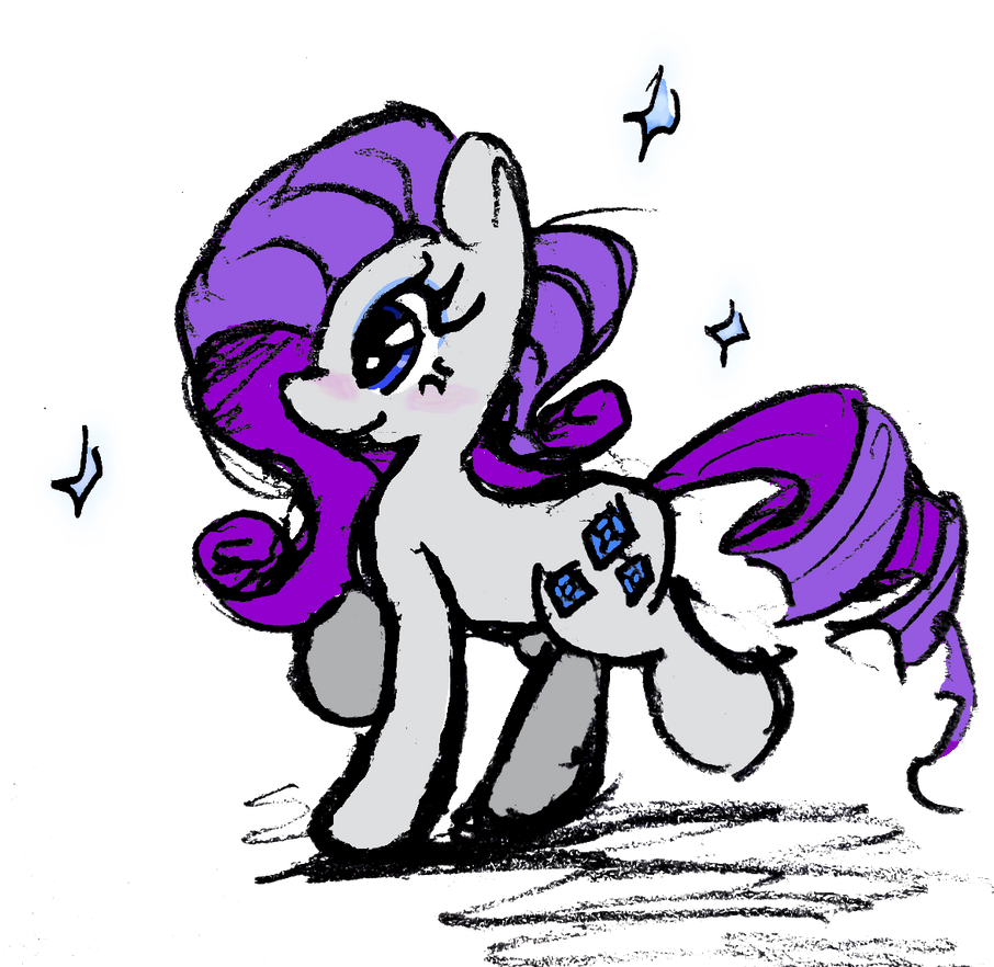 Rarity1 by DarkMage2