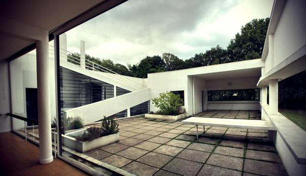 Villa Savoye - Le Corbusier by Nihilista on DeviantArt