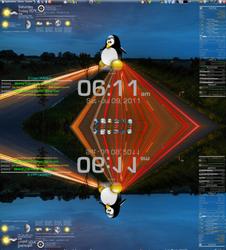 4 conky screenshot preview by McLovin-aka-DaGoN