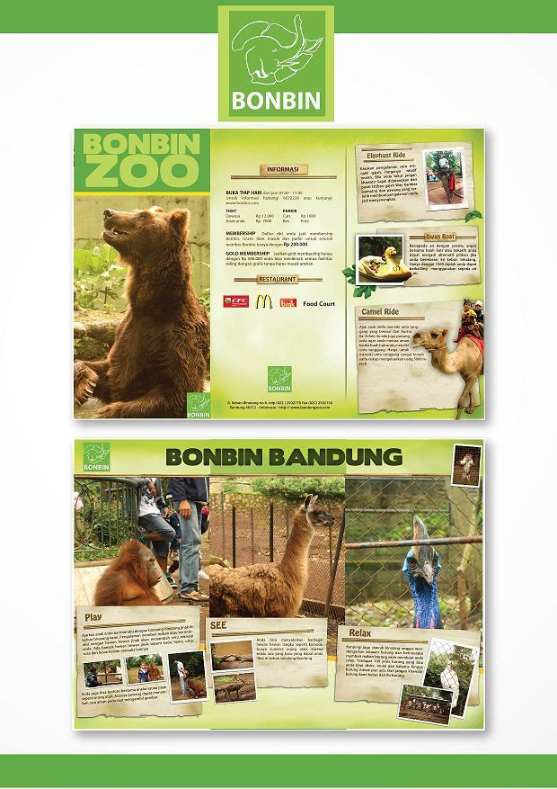 Bonbin Zoo Brochure By Ugun On Deviantart