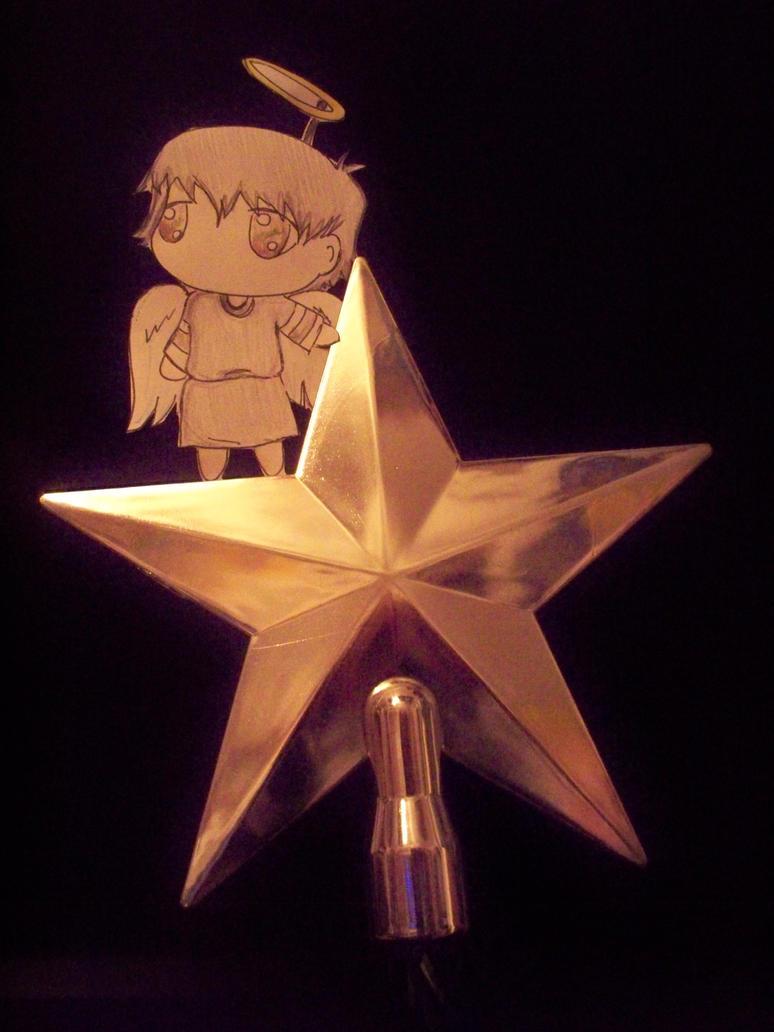 Paper Child - MCR Christmas Angel by xYamiKawaitax