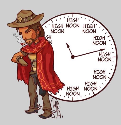 overwatch local man tells the time by essuei on deviantart