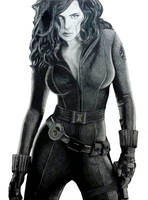 My Hand At -  Black Widow by FatalHex