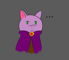 A Grumpy Bat