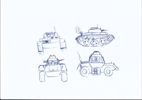 Tank and Armoured Vehicle Prototype