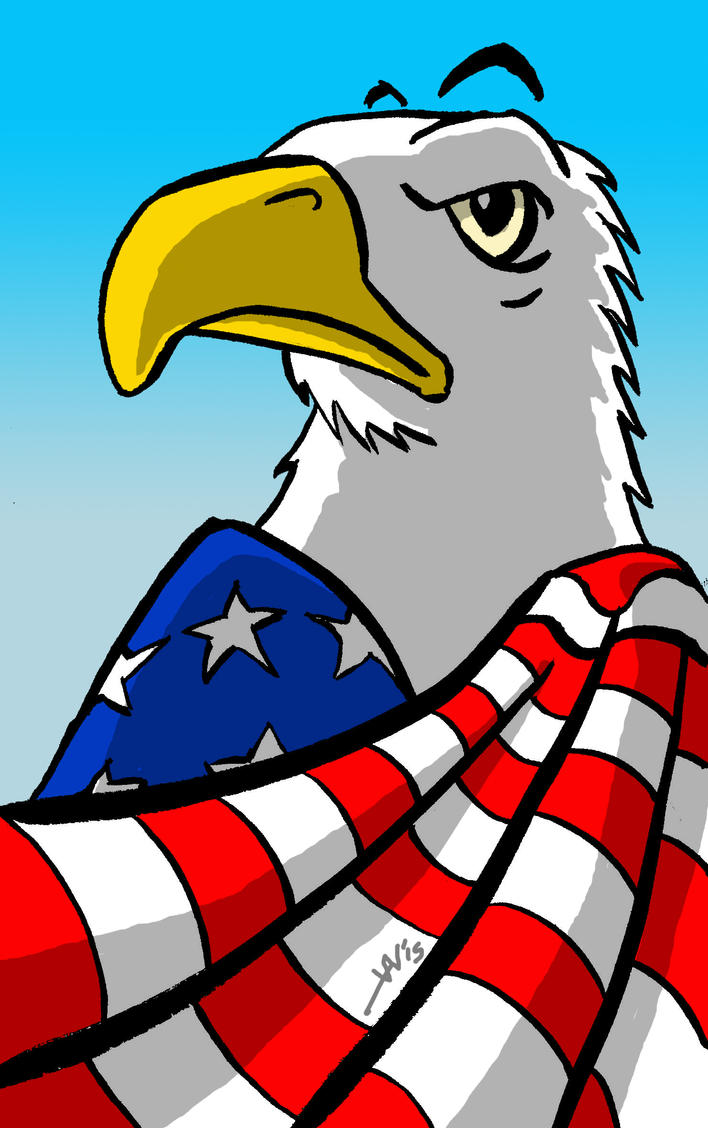 The Great Eagle Tarian by noblebear