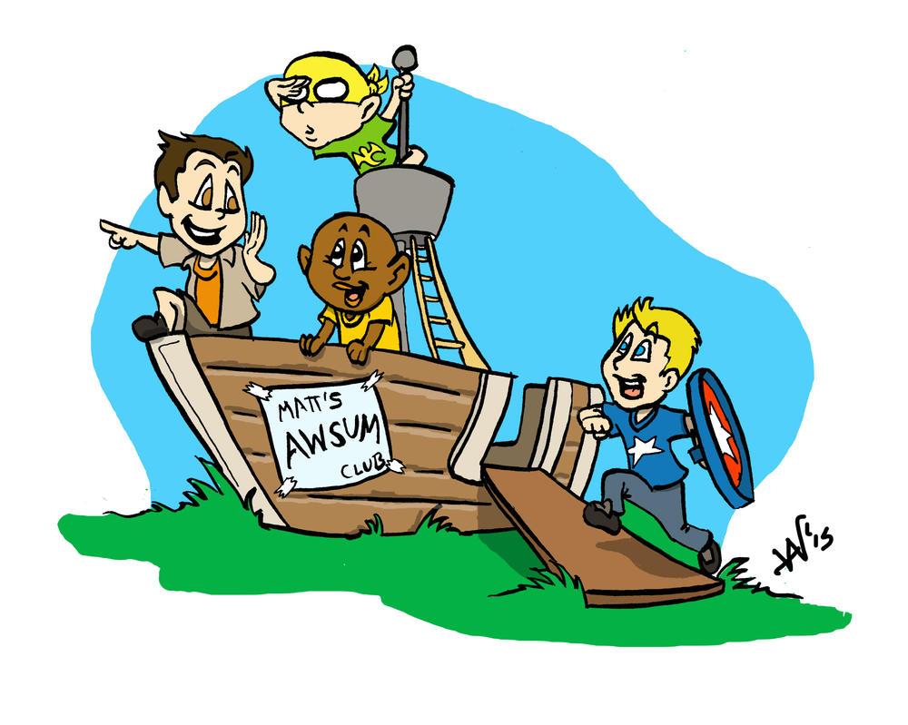 Matt's Adventure Club by noblebear