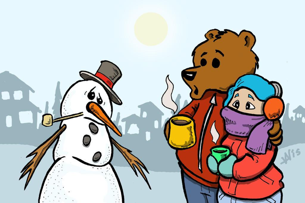 January Christmas by noblebear
