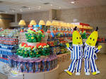 Bananas in Pyjamas in the Monorotaia Shop