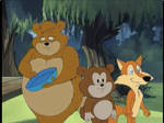 Chucklewood Critters : Bridget, Buttons and Rusty